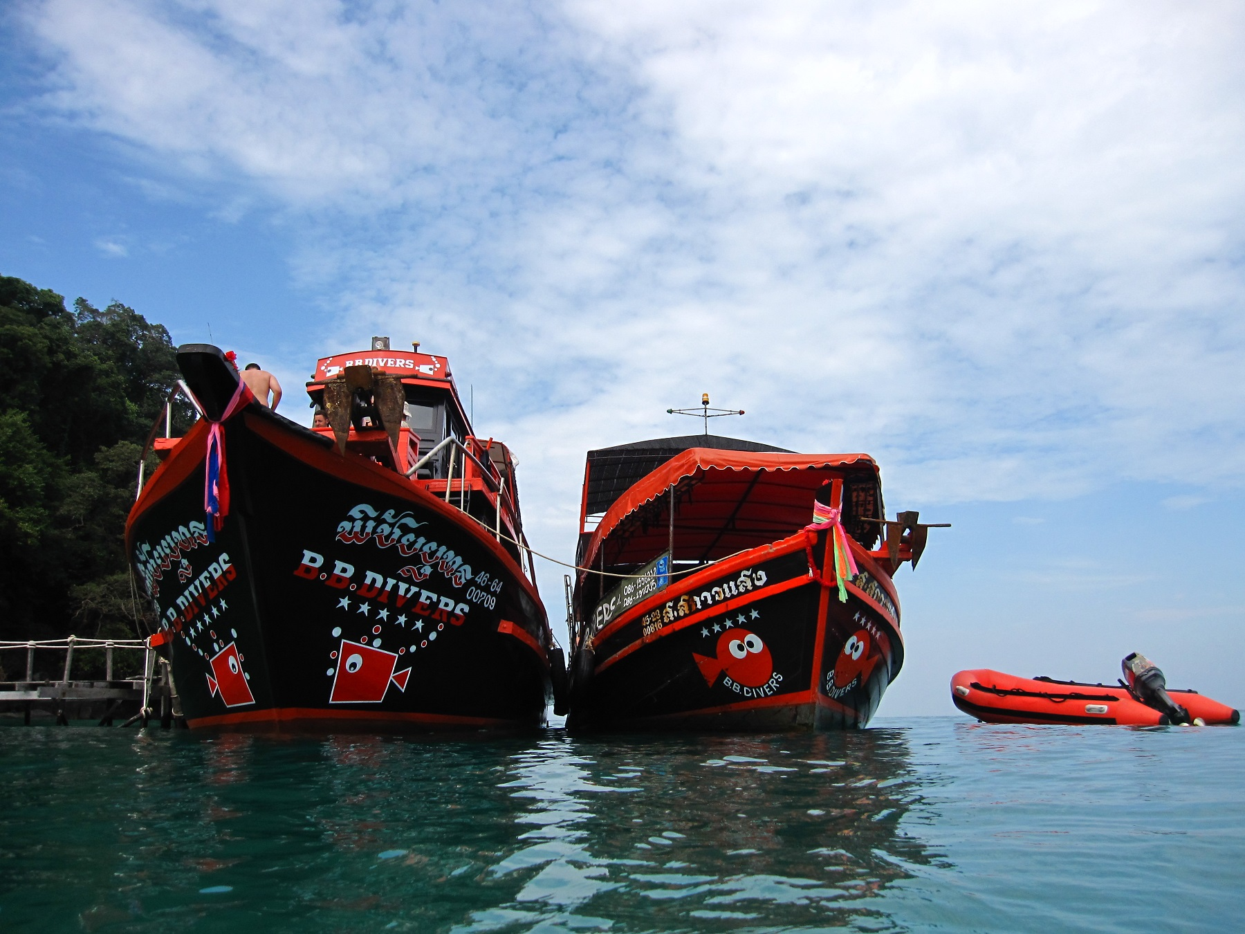 BB-Boats-in-Koh-rang